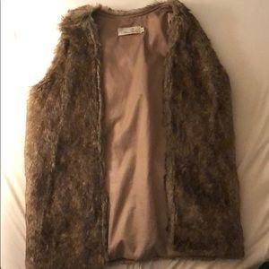 LF Faux Fur Vest